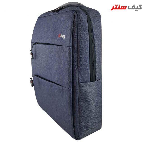 کوله پشتی لپ تاپ جی بگ مدل Prato مناسب برای لپ تاپ ۱۵.۶ اینچی