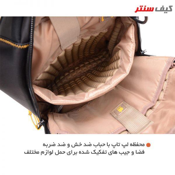 کوله پشتی لپ تاپ مدل CA 1600276 - 0305 مناسب برای لپ تاپ 15.6 اینچی