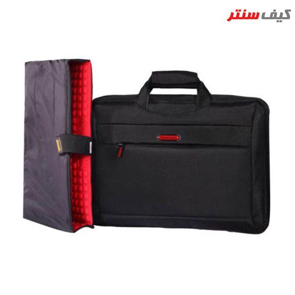 کیف لپ تاپ سه کاره مدل PC-260 مناسب برای لپ تاپ 15.6 اینچی